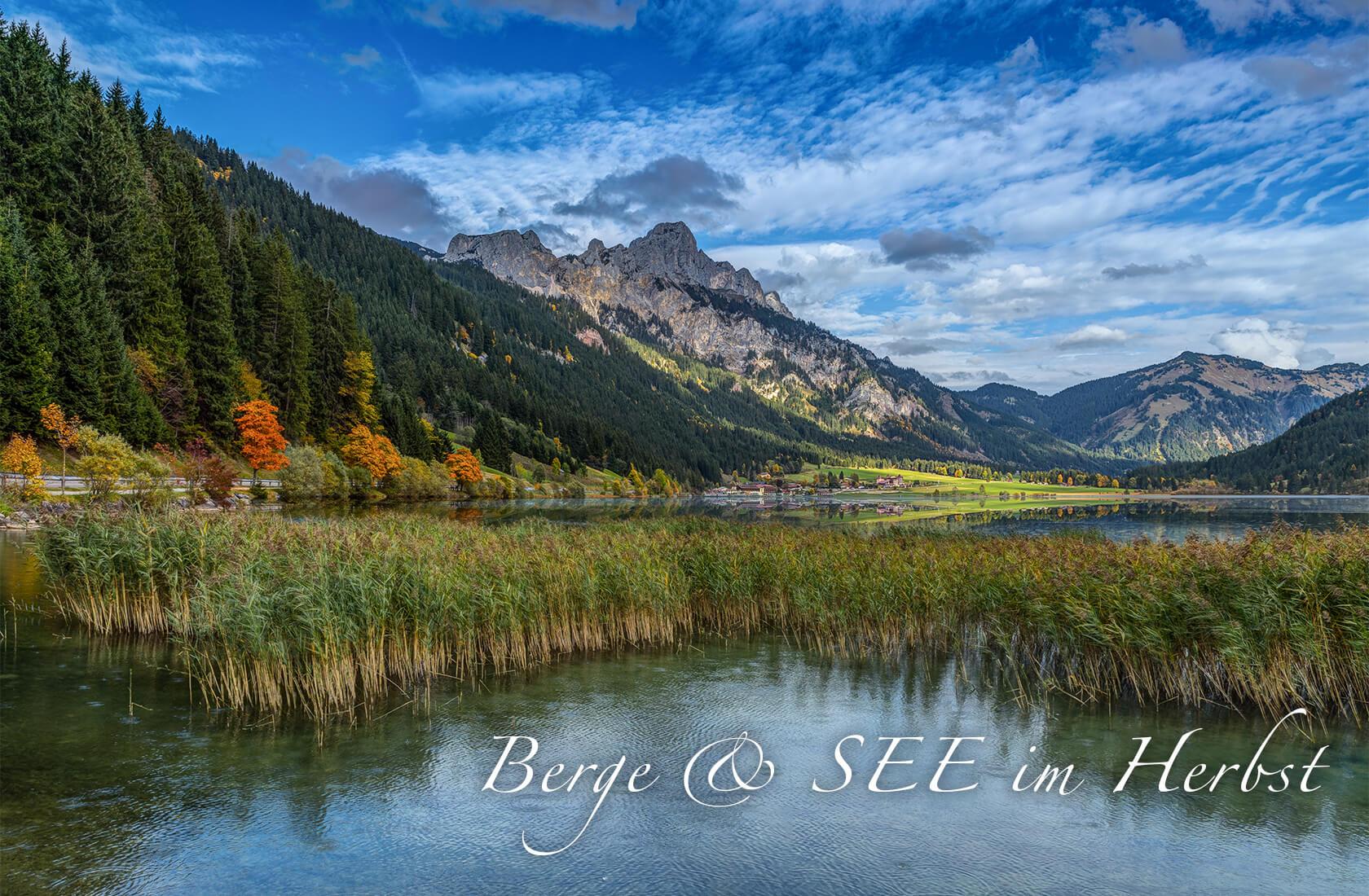 Berge und SEE im Herbst - Wanderzeit - Hotel Via Salina