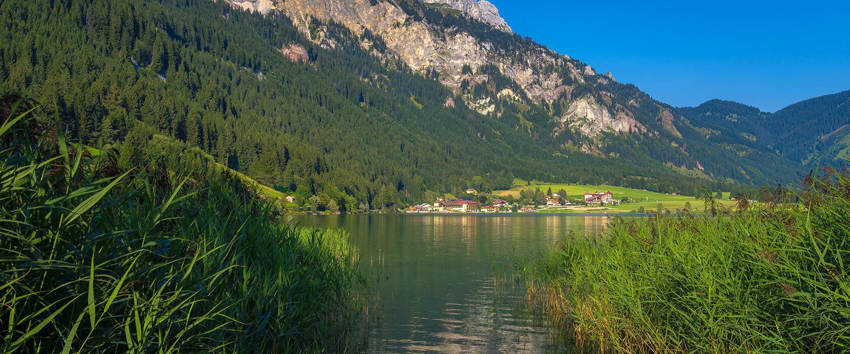 Sommerurlaub am Haldensee in Tirol im Hotel Via Salina