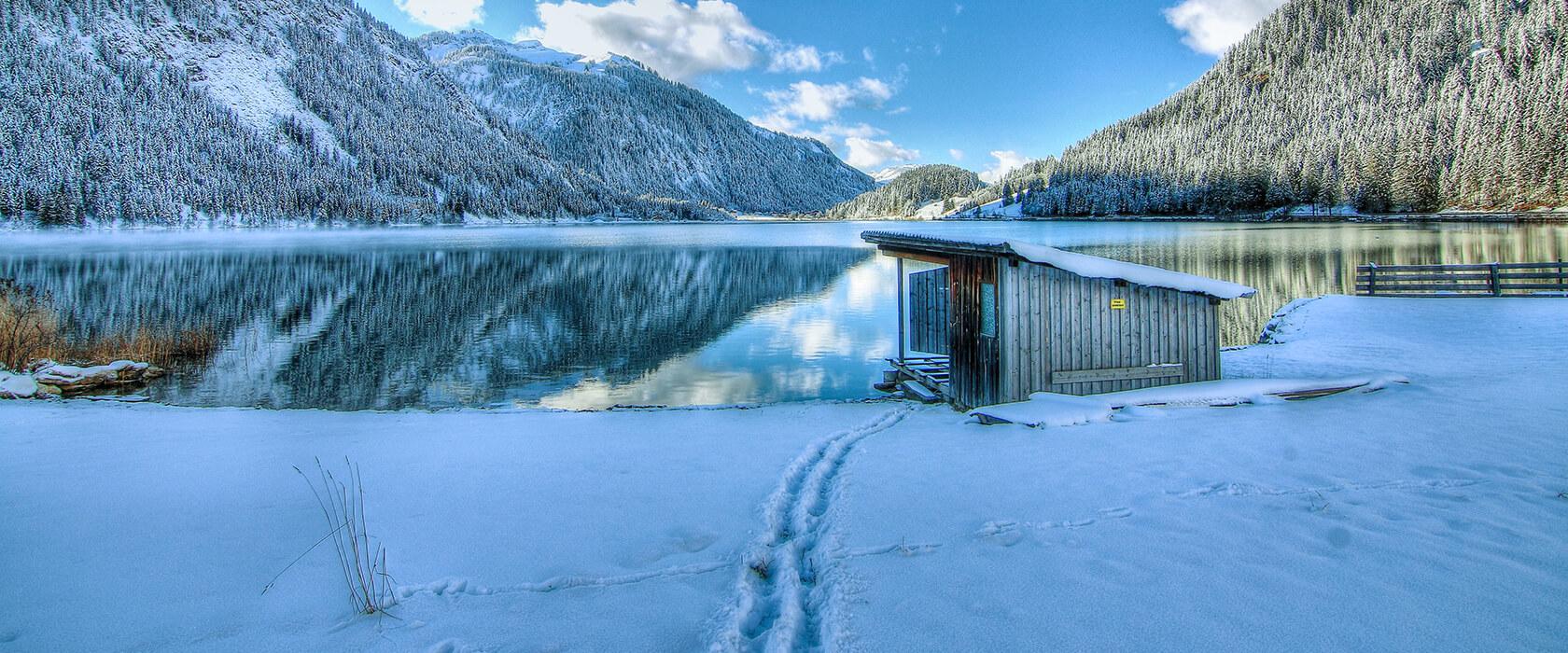 Winterurlaub am Haldensee in Tirol im Hotel Via Salina
