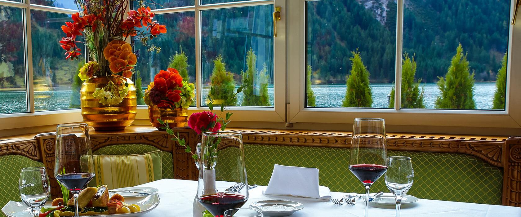 Kulinarische Vielfalt im Hotel Via Salina