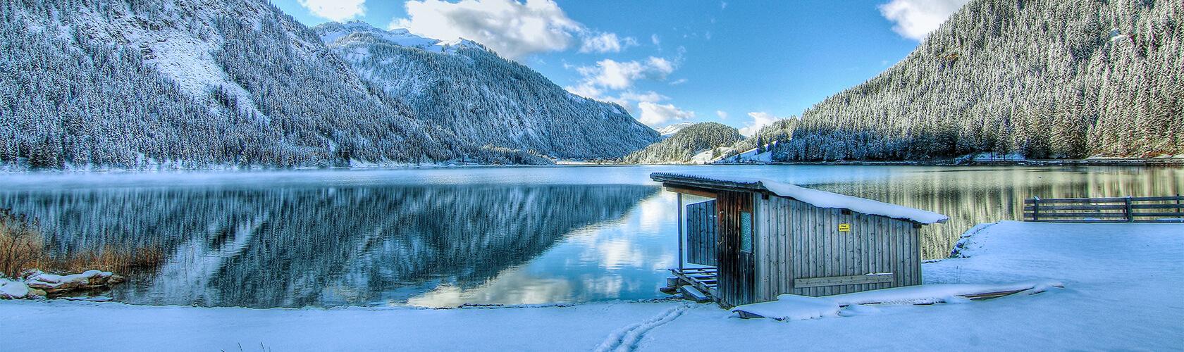 Haldensee im Winter