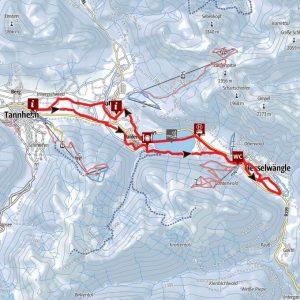 Rundloipe Gaichtpass - Tannheimer Tal