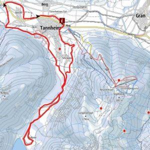 Rundloipe Visalpsee - Langlaufen Tannheimer Tal