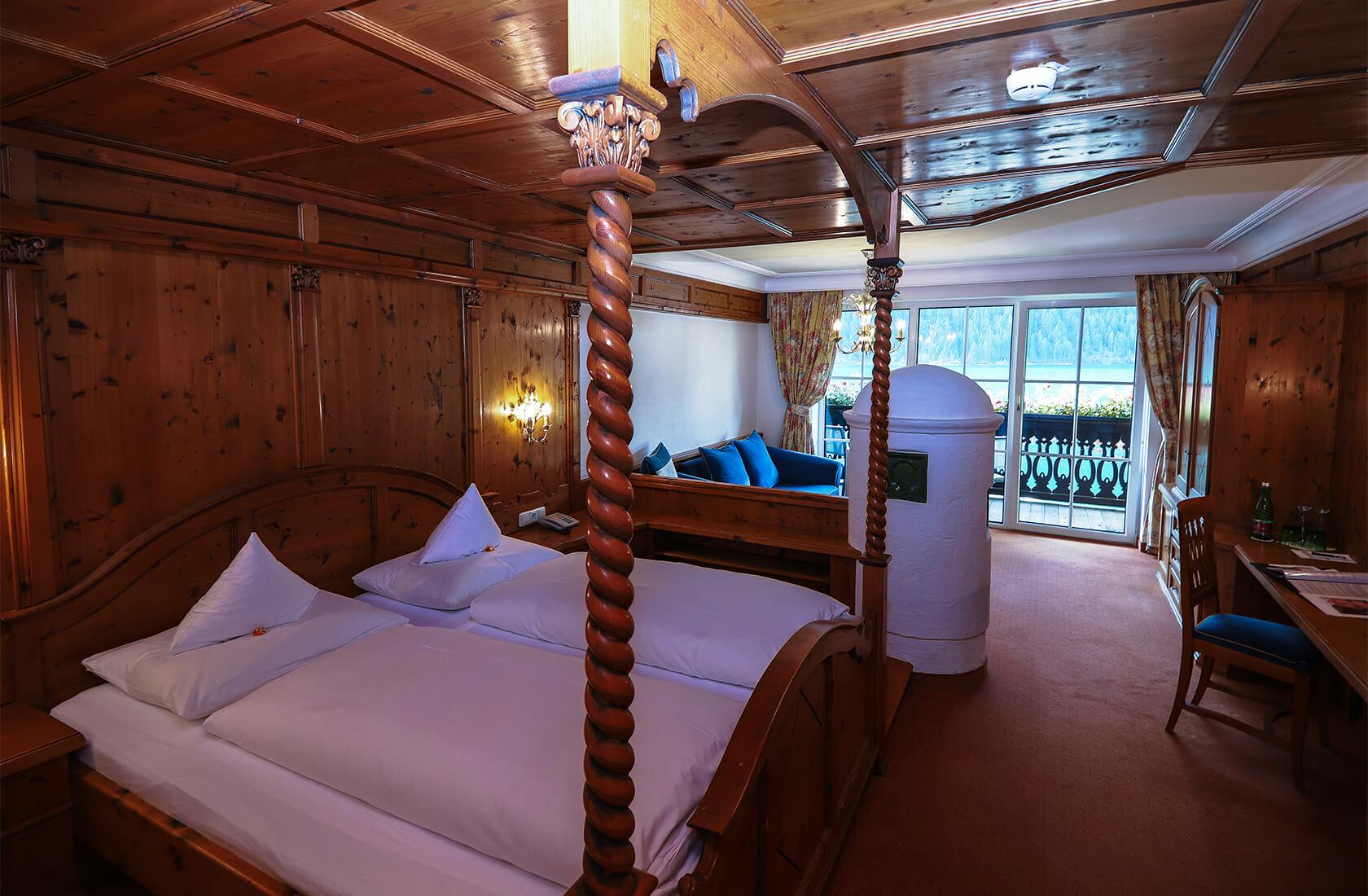 Herrlicher Seeblick im Seeblickzimmer Lago - Hotel Via Salina