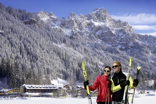 Ski Ausruestung Verleih - Haldensee