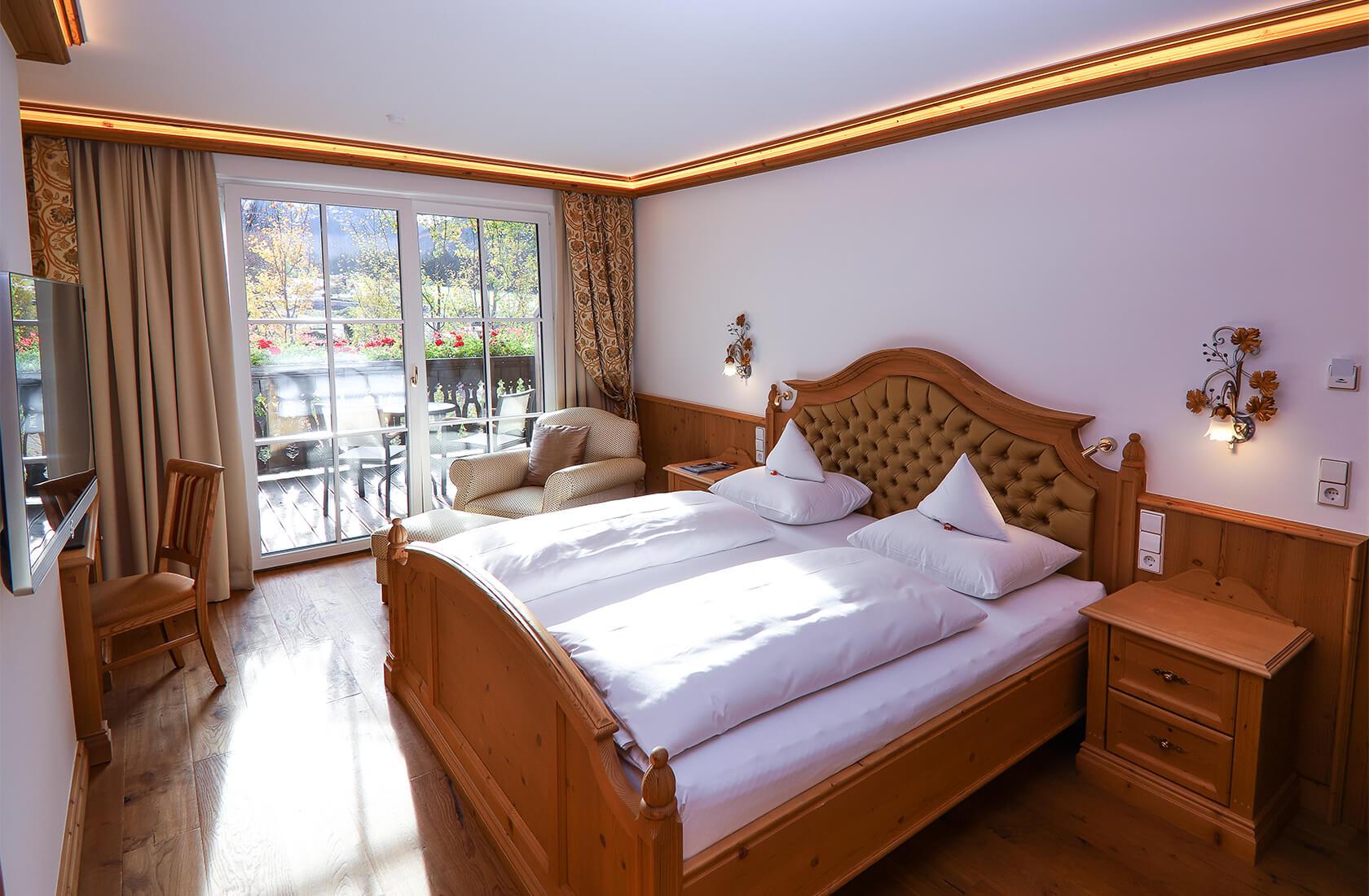 Hochwertige Ausstattung im Standardzimmer Alpina - Hotel Via Salina