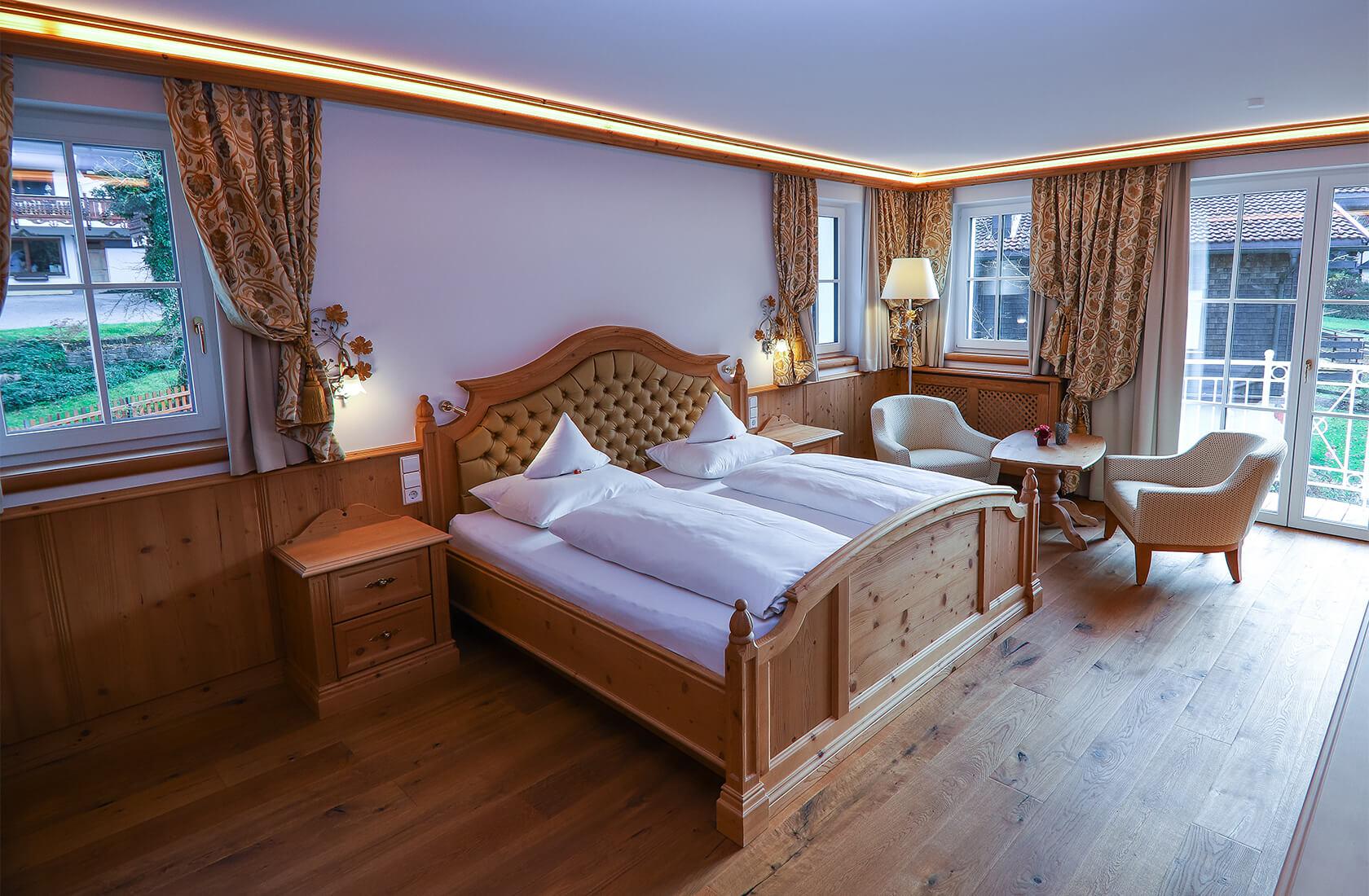 Hochwertige Ausstattung im Standardzimmer Montana - Hotel Via Salina