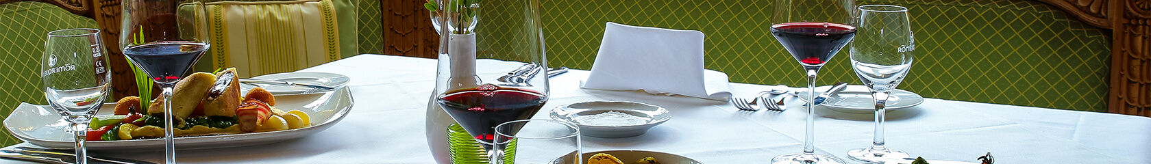 Kulinarik im Hotel Via Salina