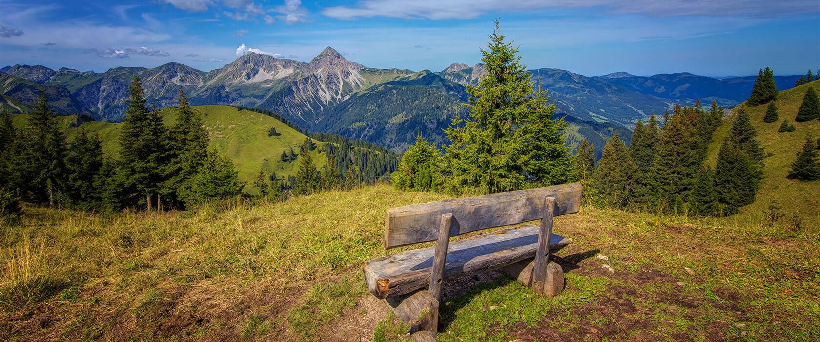 Wanderurlaub am Haldensee im Tannheimer Tal