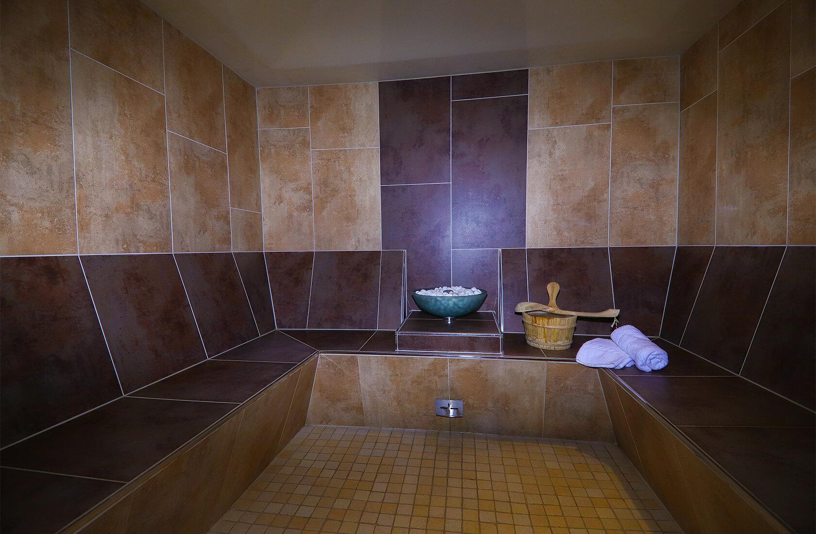 Sole Dampfbad am Haldensee im Hotel Via Salina