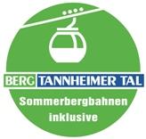 Inklusive kostenlosem Sommerbergbahn Pass