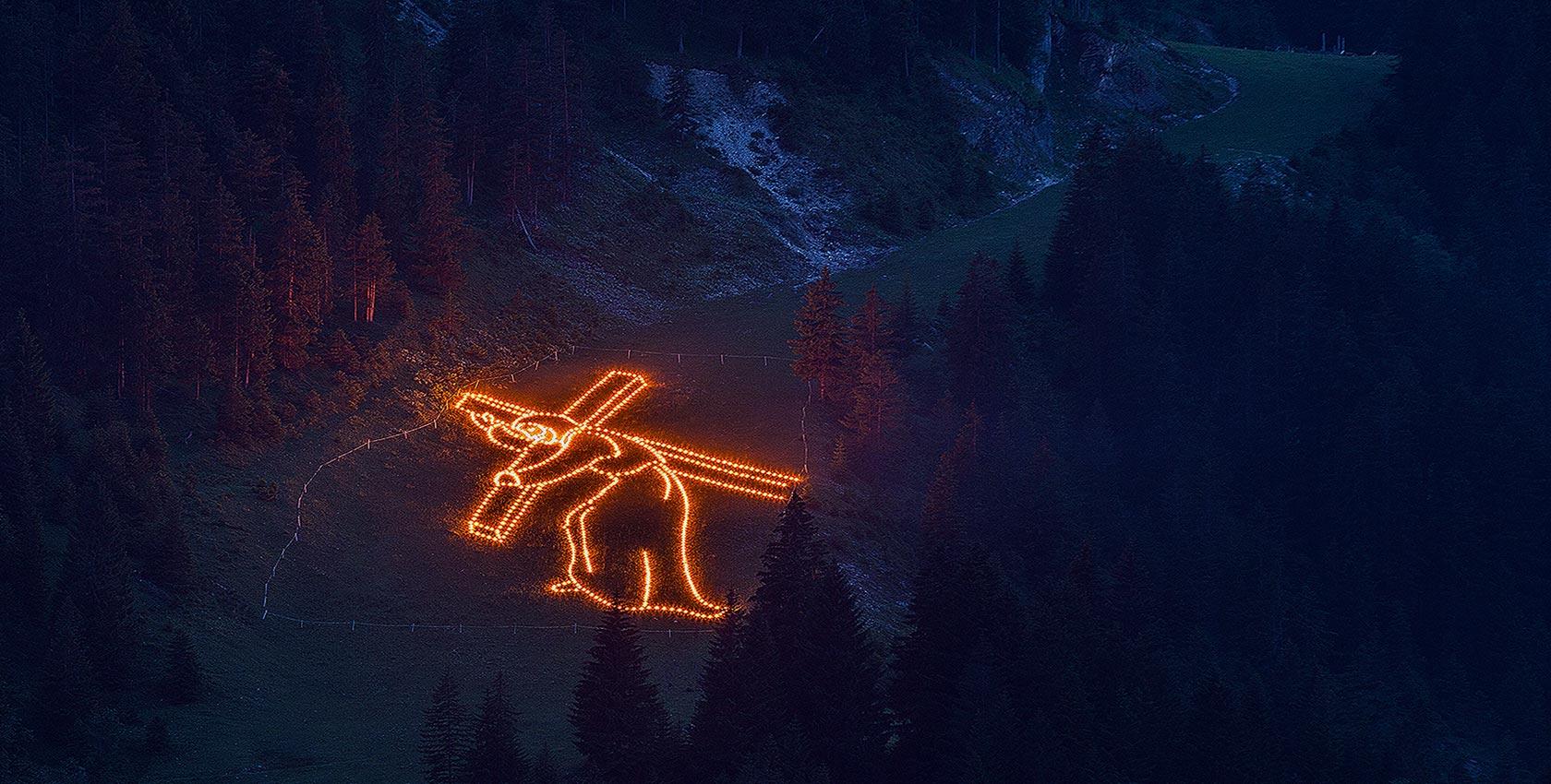 Feuer Fest in Tirol