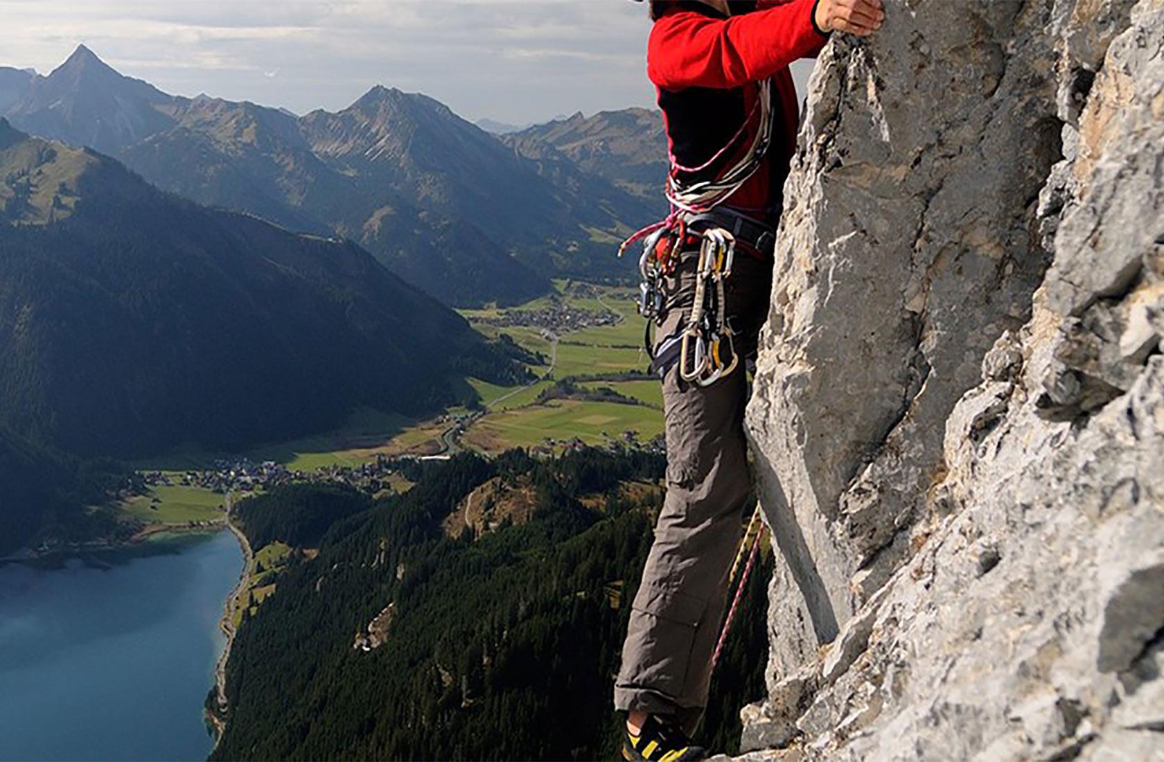 Tiroler Berge zum klettern und wandern im Urlaub im Tannheimer tal