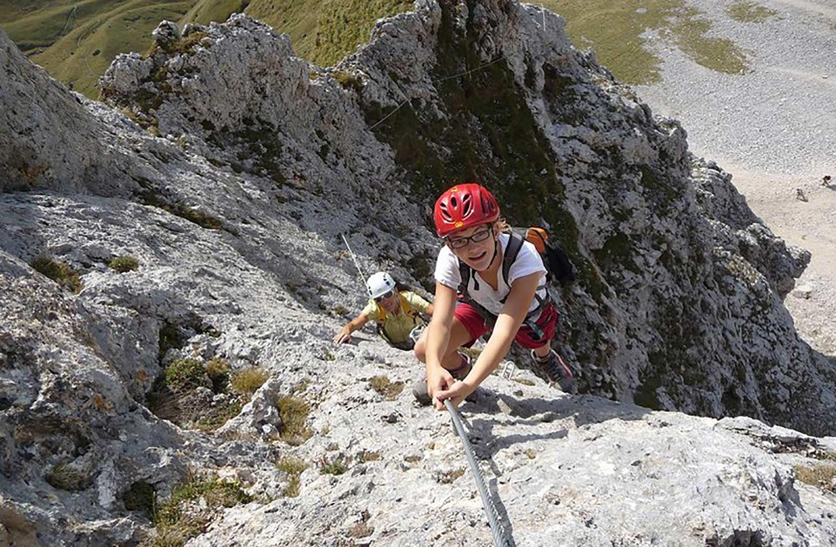 Klettersteige im Tannheimer Tal Tirol