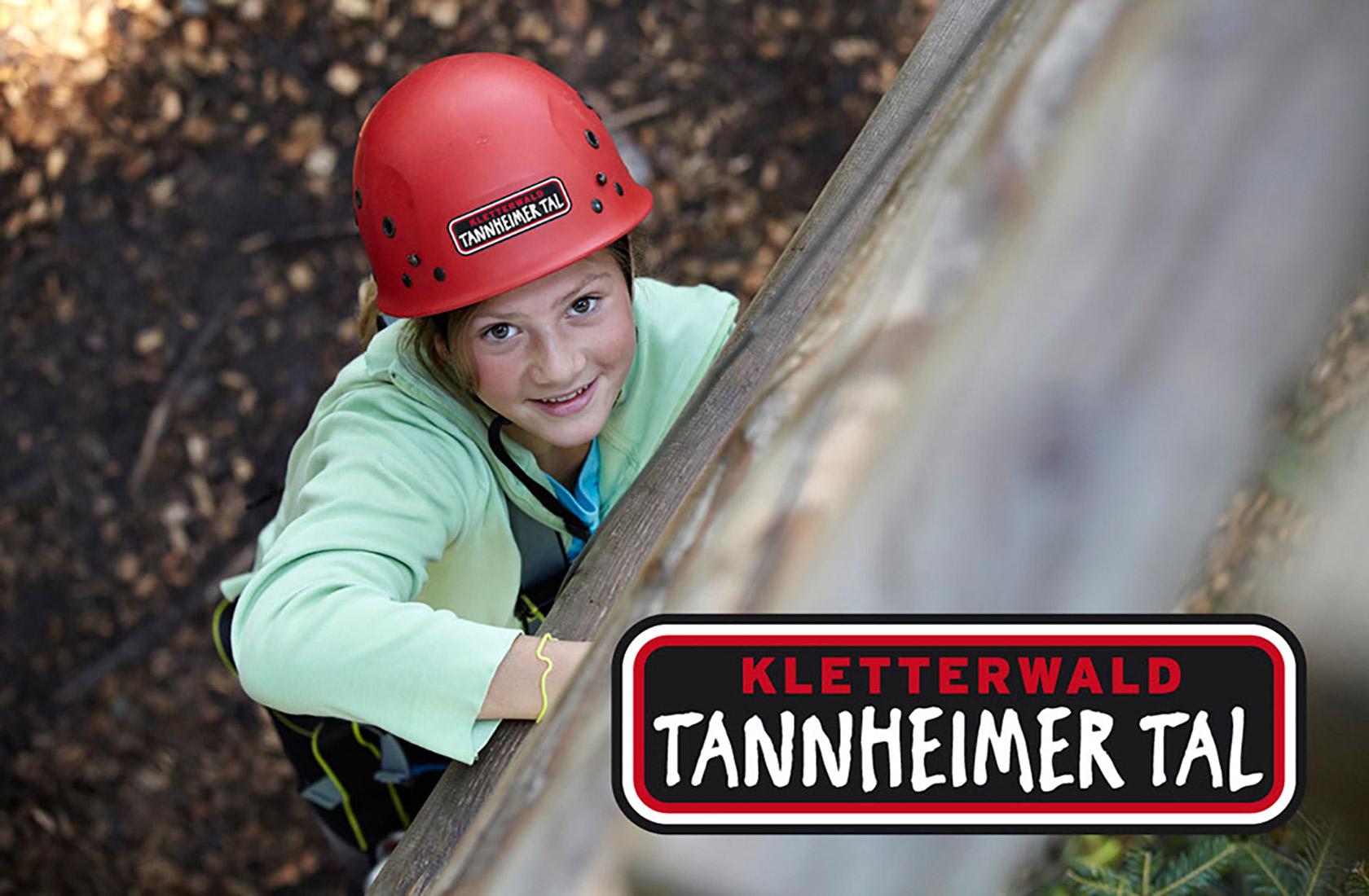 Tourismus im Kletterwald im Tannheimer Tal