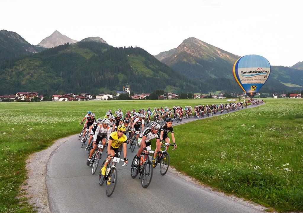 Radmarathon im Tannheimer Tal in Tirol