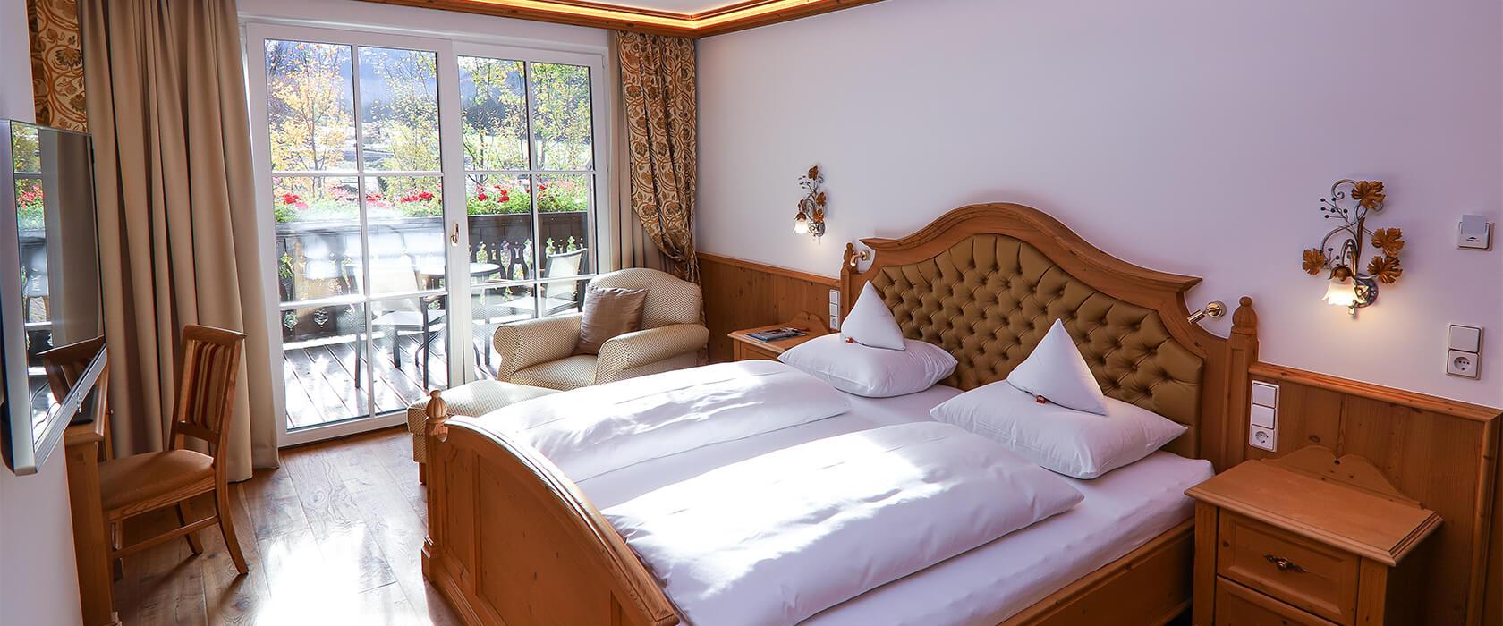 Standardzimmer Alpina mit Doppelbett