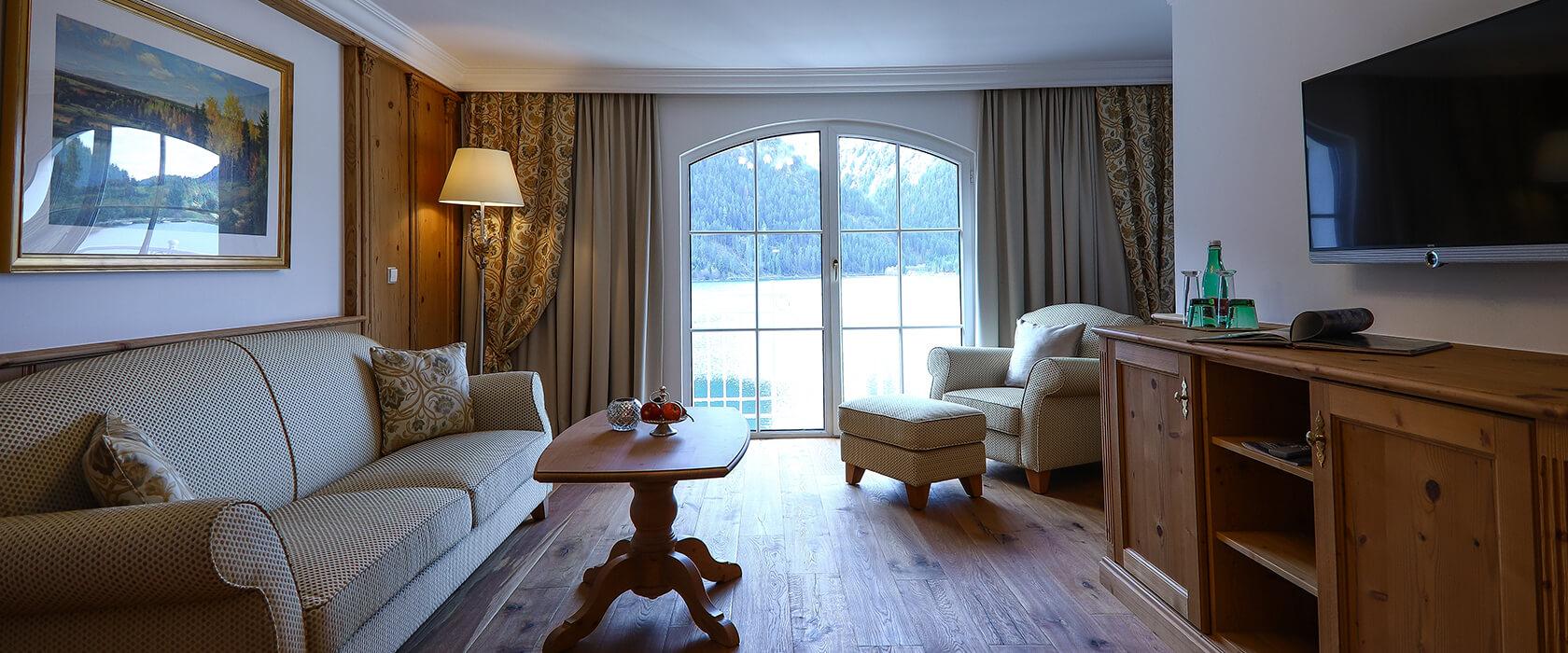 Seeblick und Luxus in der Suite Salina - Hotel Via Salina
