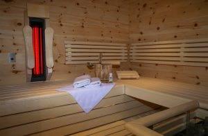 Private Sauna - Suite Salina