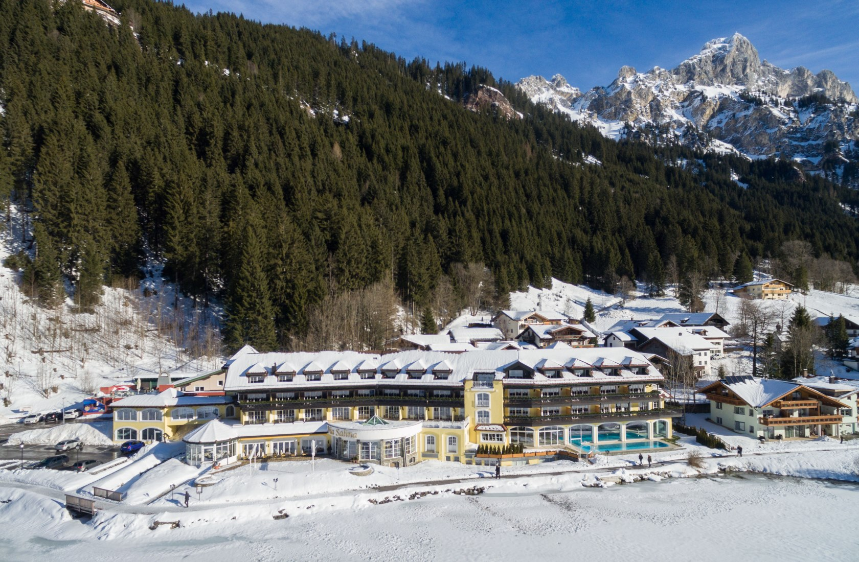 Skigebiete nähe des Hotel Via Salina am Haldensee