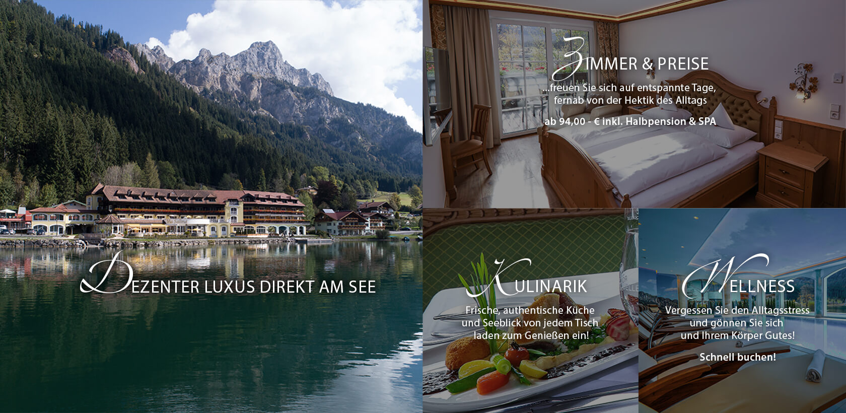Via Salina – Hotel am See