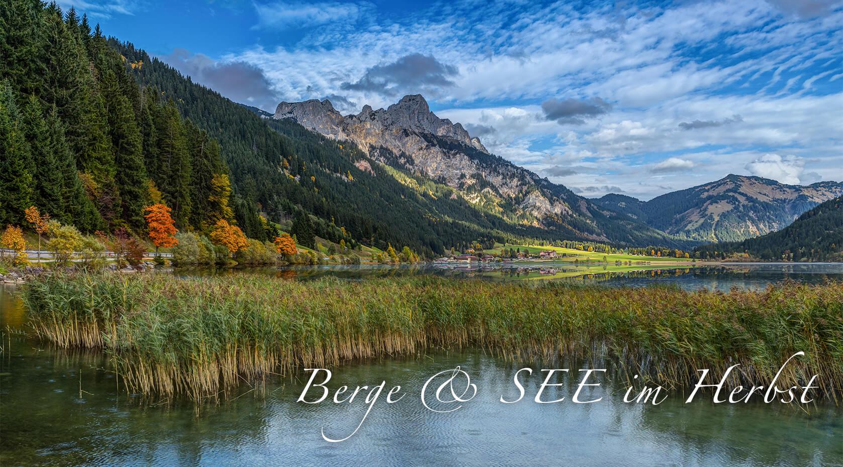 Urlaubspauschale Berge & SEE im Herbst im Via Salina