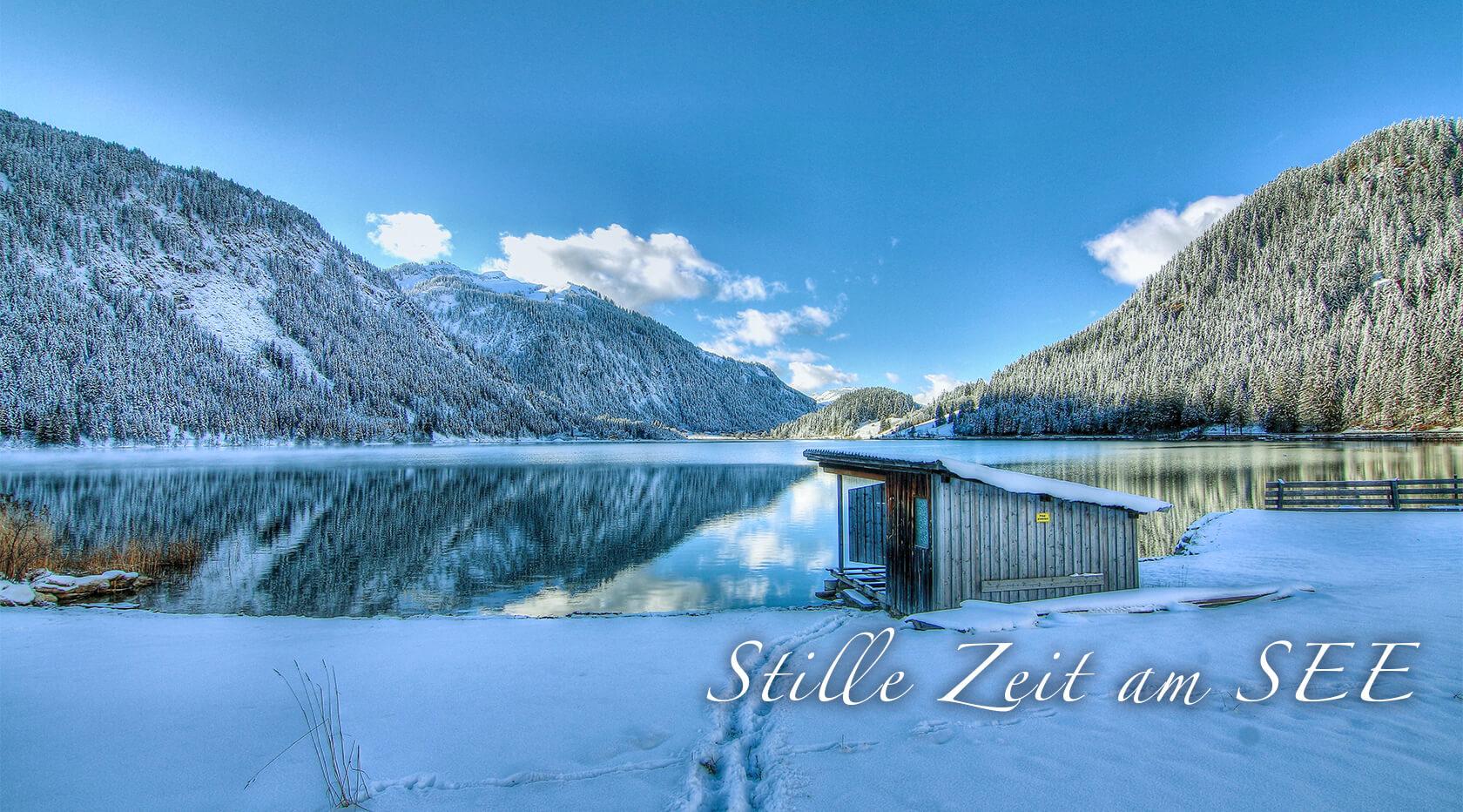 Stille Zeit am SEE - Abschalten und Kraft tanken - Hotel Via Salina