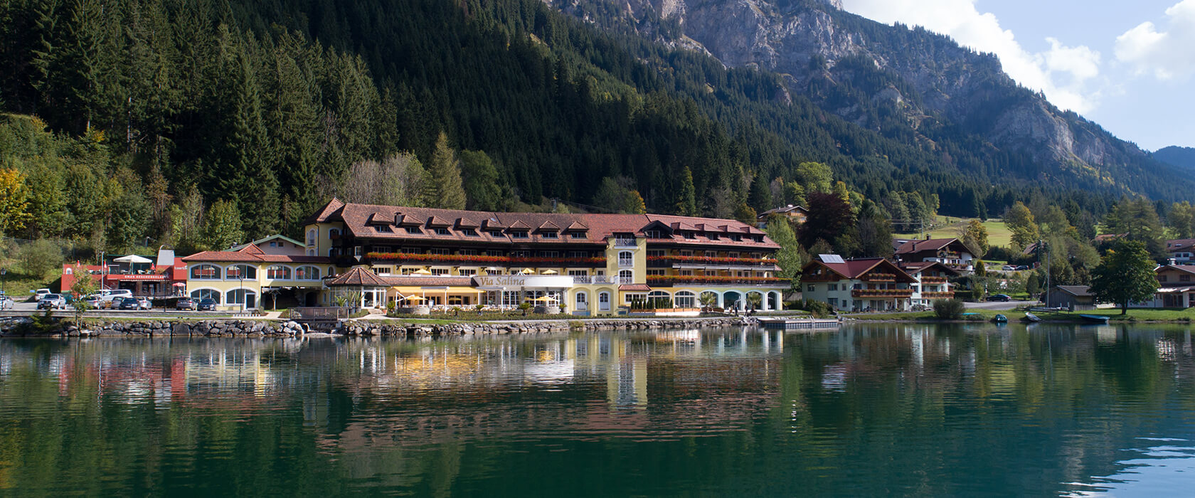 Hotel am haldensee in tirol sterreich for Designhotel tannheimer tal
