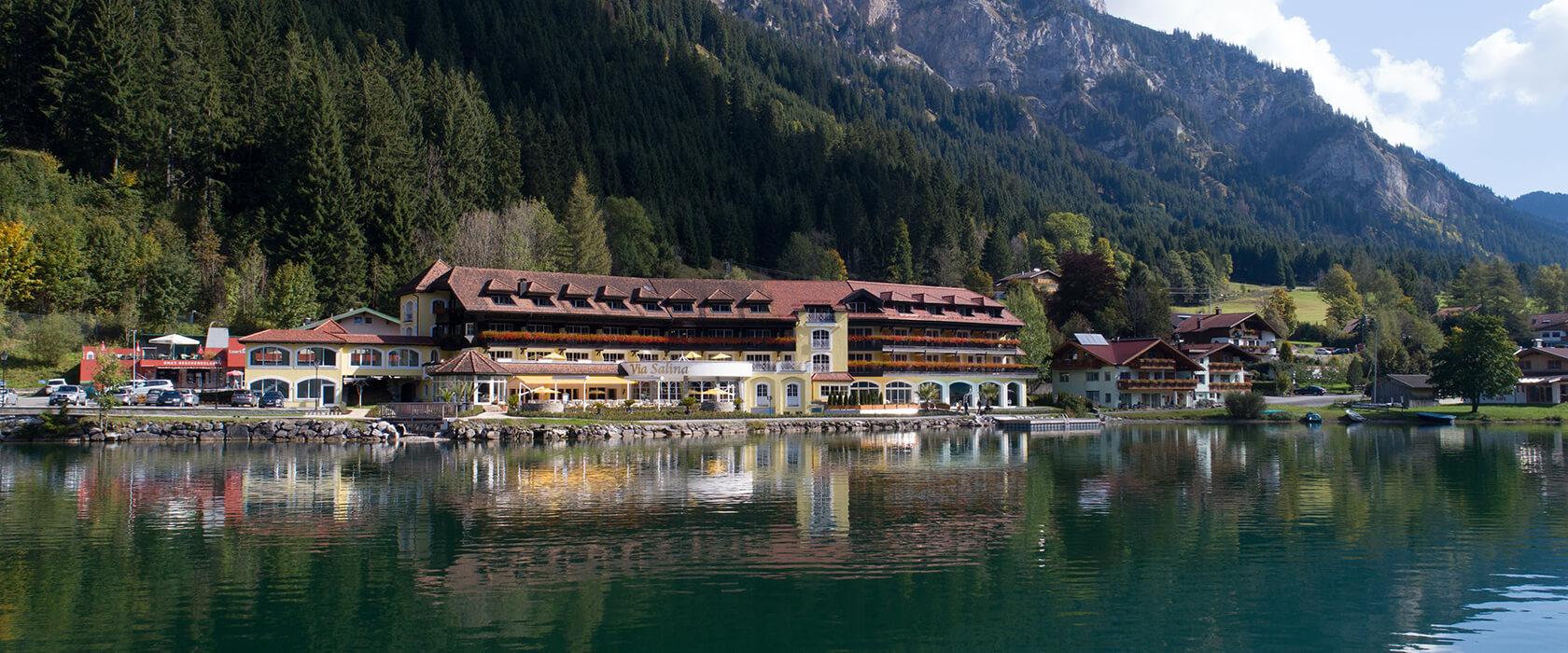Hotel Via Salina am Haldensee im Tannheimer Tal