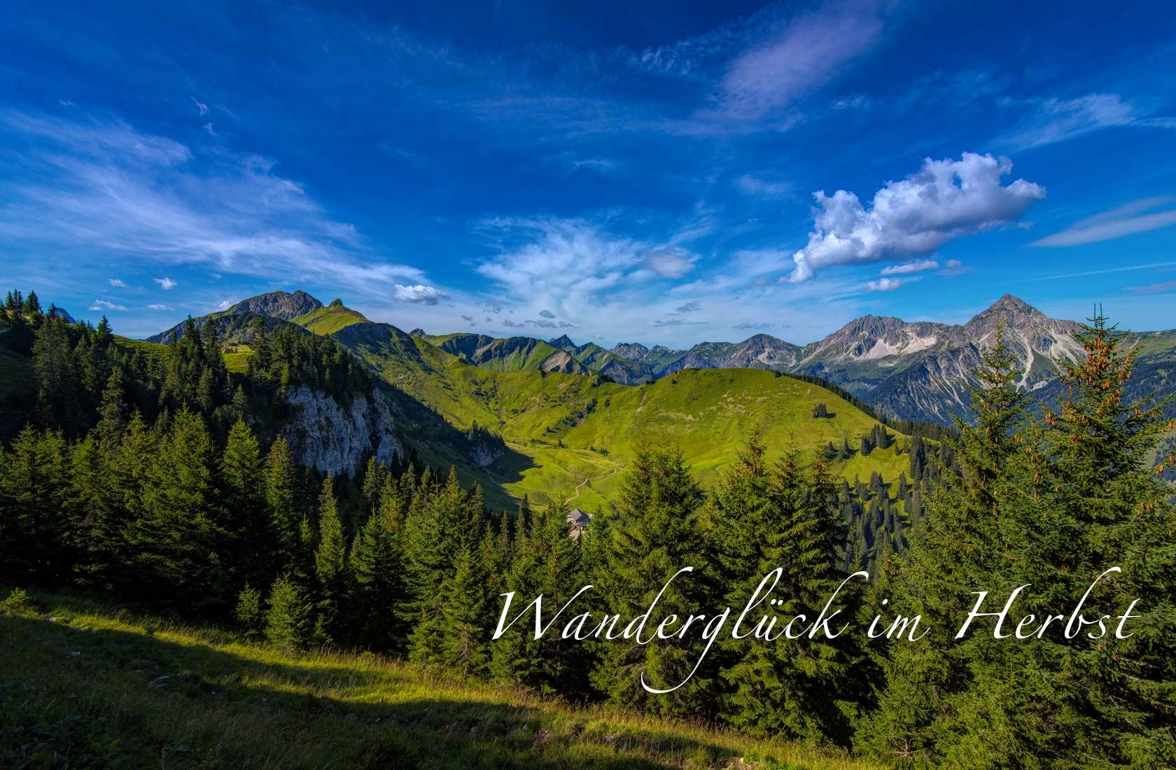 """Urlaubspauschale im Herbst """"Wanderglück am Haldensee"""" im Hotel Via Salina"""