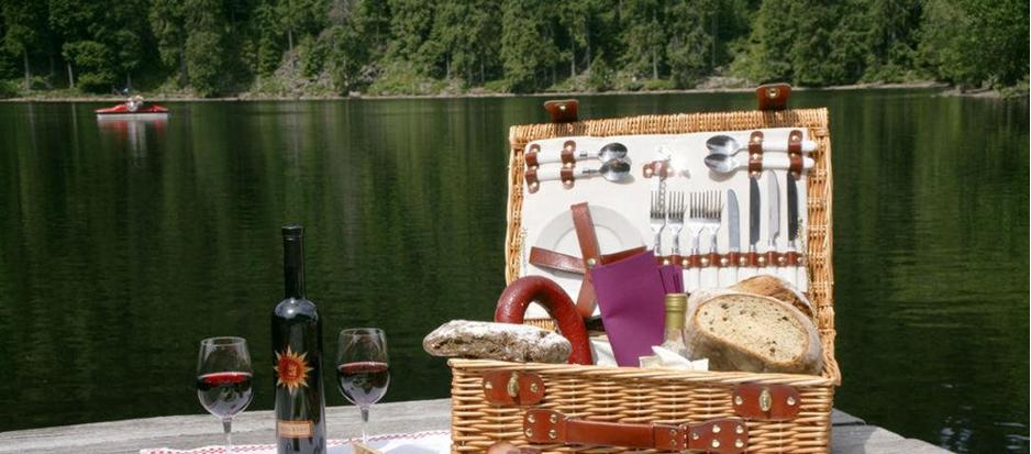 Picknick am See – Via Salina