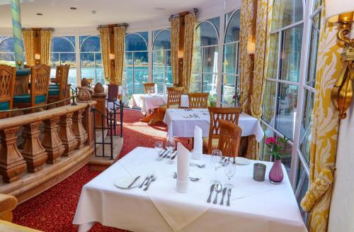 Restaurant mit Seeblick am Haldensee
